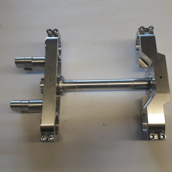 Triple clamp MY 81-87, leg distance 200mm, triple bolted