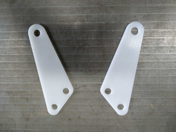 Spare plastic for chain-guide swingarm MY 77-81