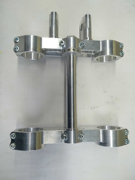 Triple Clamps KTM 660 SMS Factory variable offset